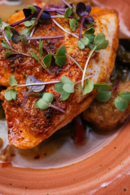Chili Butter Baked Fish